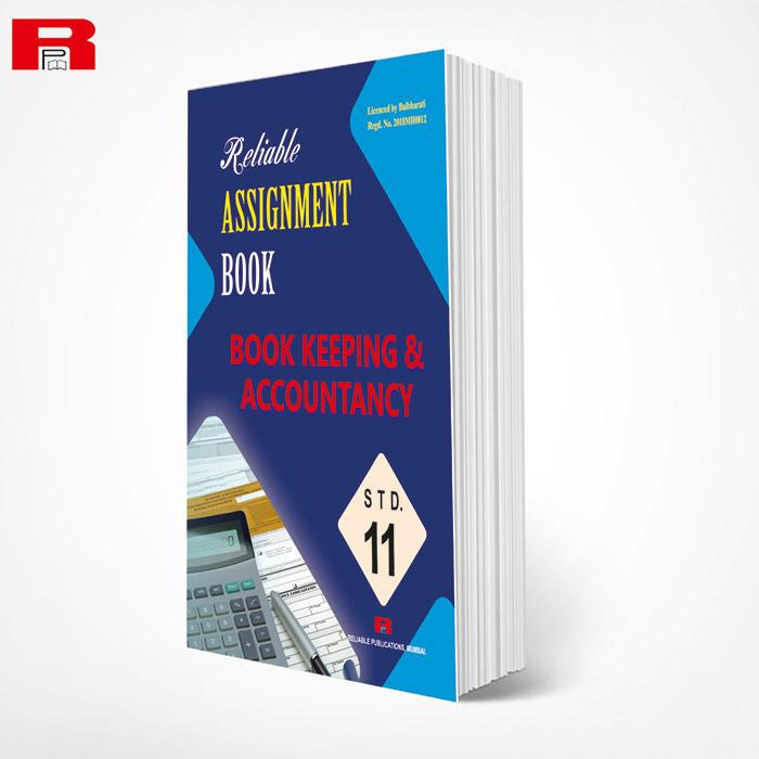 ASSIGNMENT BOOK - BOOK KEEPING KEEPING ACCOUNTANCY